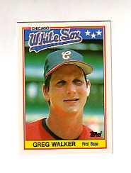 1988 Topps UK Minis Tiffany     083      Greg Walker