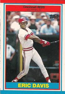 1989 Topps UK Minis Baseball Cards     019      Eric Davis