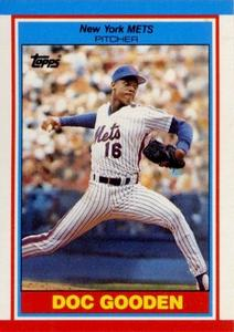 1989 Topps UK Minis Baseball Cards     031      Dwight Gooden
