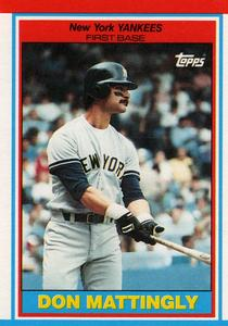 1989 Topps UK Minis Baseball Cards     049      Don Mattingly