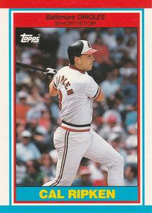 1989 Topps UK Minis Baseball Cards     064      Cal Ripken