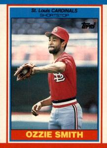 1989 Topps UK Minis Baseball Cards     072      Ozzie Smith