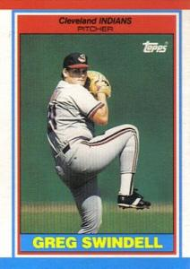 1989 Topps UK Minis Baseball Cards     076      Greg Swindell