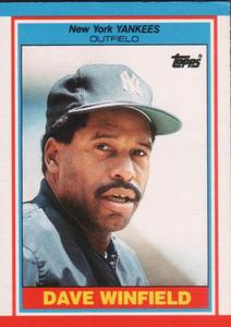 1989 Topps UK Minis Baseball Cards     084      Dave Winfield