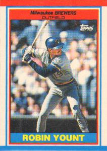 1989 Topps UK Minis Baseball Cards     087      Robin Yount