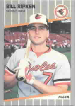 1989 Fleer Glossy Baseball Cards