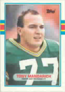 1989 Topps Traded Football Cards