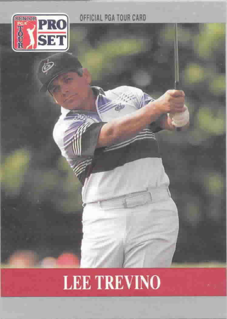 1990 Pro Set Promos Golf Cards