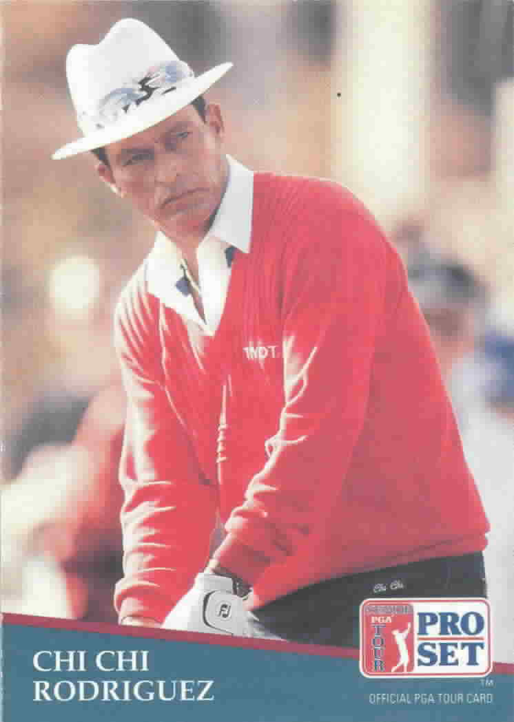 1991 Pro Set Promos Golf Cards