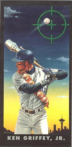 1993 Diamond Marks Art Baseball Cards